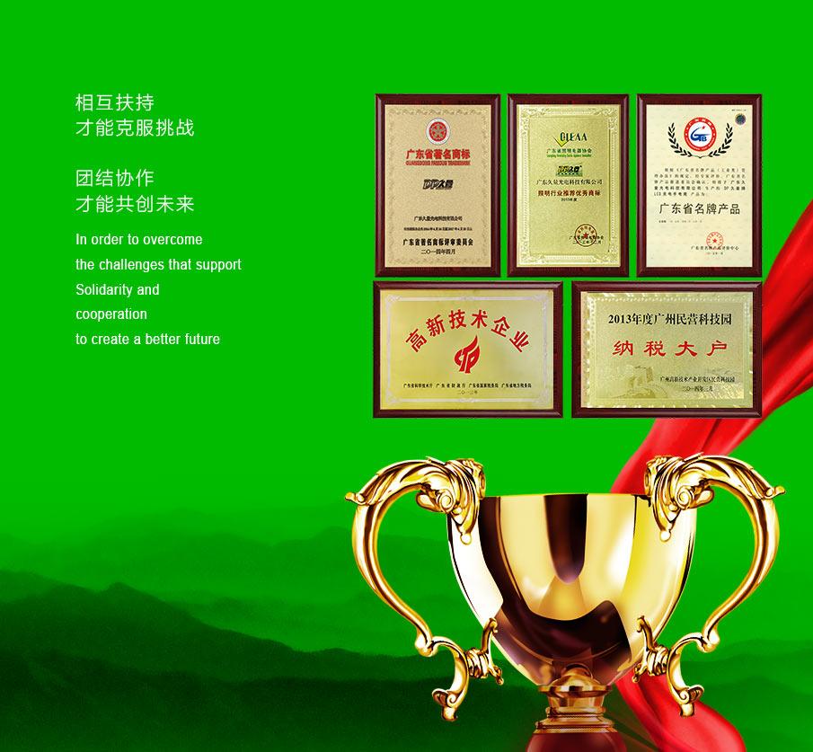 广东平博pinnacle sports股份有限公司企业荣誉